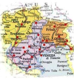 Cartina Friuli Venezia Giulia E Veneto.Chersovani Trading Veneto Friuli Venezia Giulia Trentino Alto Adige